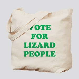 VOTE FOR LIZARD PEOPLE Tote Bag