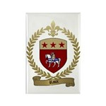 RAUX Family Crest Rectangle Magnet (10 pack)