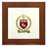 REAU Family Crest Framed Tile