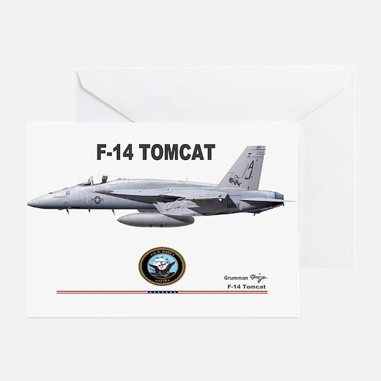 Tomcat! F-14 Greeting Cards (Pk of 10)