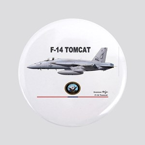 "Tomcat! F-14 3.5"" Button"