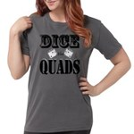 Bodybuilding Dice the Womens Comfort Colors® Shirt
