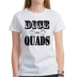 Bodybuilding Dice the Quad Women's Classic T-Shirt