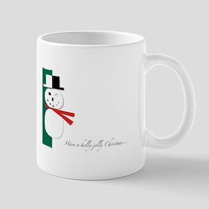 Holly Jolly Snowman Mug