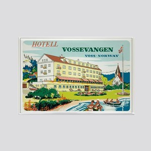 Vossevangen Norway Rectangle Magnet