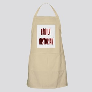 Family Historian BBQ Apron