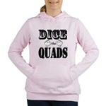 Bodybuilding Dice the Qu Women's Hooded Sweatshirt