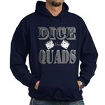 Bodybuilding Dice the Quads Hoodie (dark)