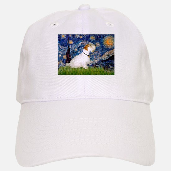 Starry Night/Sealyham L1 Baseball Baseball Cap