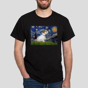 Starry Night/Sealyham L1 Dark T-Shirt