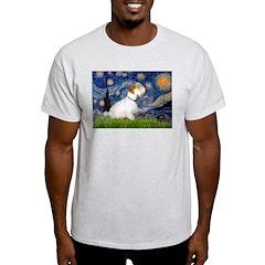 Starry Night/Sealyham L1 T-Shirt