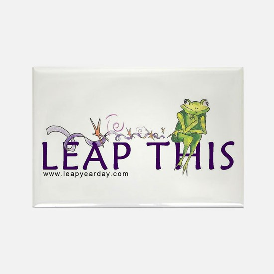 LEAP THIS Rectangle Magnet