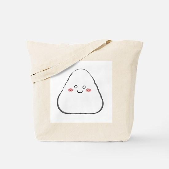 Happy Onigiri Tote Bag