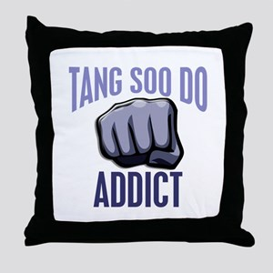Tang Soo Do Addict Throw Pillow