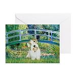 Bridge/Sealyham L2 Greeting Cards (Pk of 20)