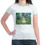 Bridge/Sealyham L2 Jr. Ringer T-Shirt