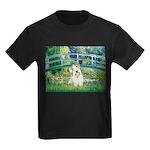 Bridge/Sealyham L2 Kids Dark T-Shirt