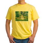 Bridge/Sealyham L2 Yellow T-Shirt