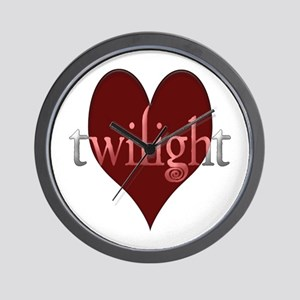 Twilight in Your Heart Wall Clock
