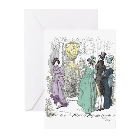 Pride & Prejudice Ch 10 Greeting Cards (Pk of 10)