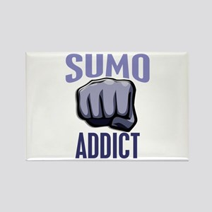Sumo Addict Rectangle Magnet