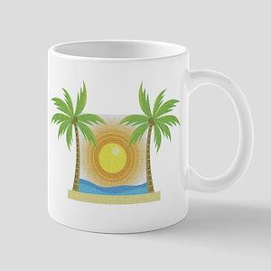 Tropical Palm trees Mug