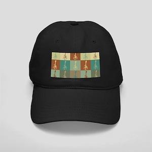 Mandolin Pop Art Black Cap