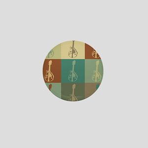 Mandolin Pop Art Mini Button