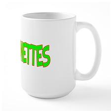 I Love-Alien Brunettes Large Mug