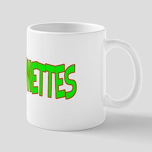 I Love-Alien Brunettes Mug