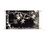 Season's Greetings - Stars Banner