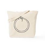 Ouroboros Symbol Tote Bag