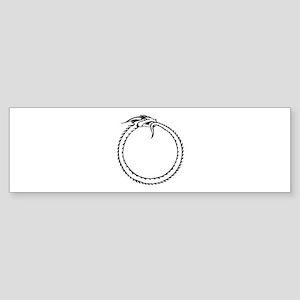 Ouroboros Symbol Bumper Sticker