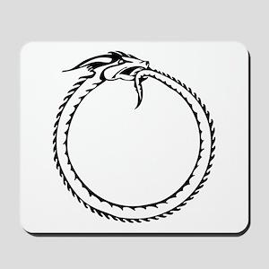 Ouroboros Symbol Mousepad