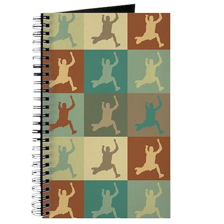 Long Jumping Pop Art Journal