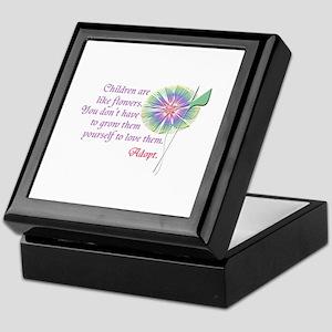 Adoption Flowers Keepsake Box