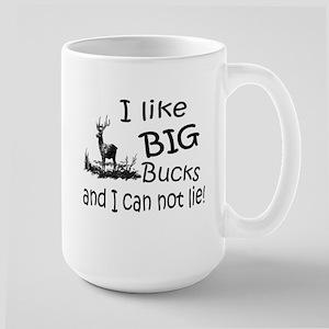 BIG Bucks Large Mug