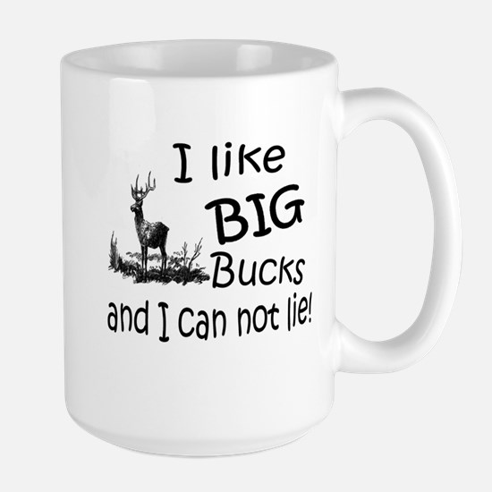 BIG Bucks Large Mug