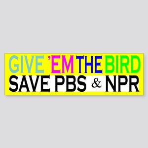 Save PBS Bumper Sticker