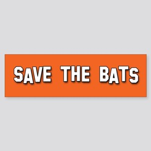 Save the Bats Bumper Sticker