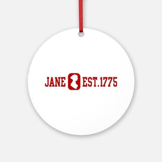 Jane Est.1775 Ornament (Round)