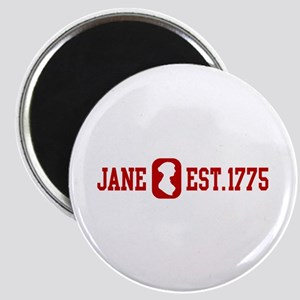 Jane Est.1775 Magnet