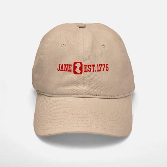 Jane Est.1775 Baseball Baseball Cap