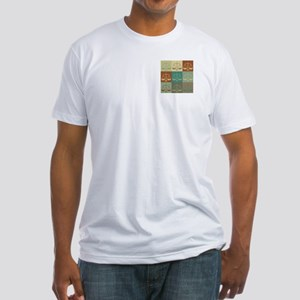 Law Pop Art Fitted T-Shirt