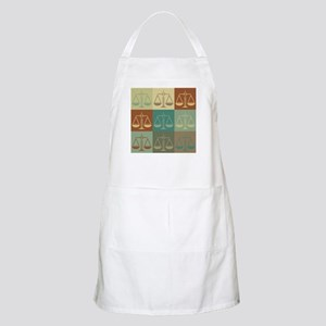 Law Pop Art BBQ Apron