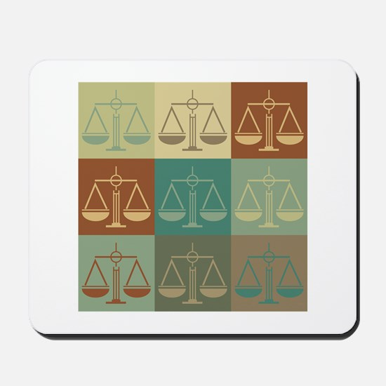 Law Pop Art Mousepad