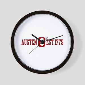 Austen Est.1775 Wall Clock