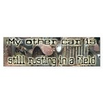 Rust Bucket Bumper Sticker