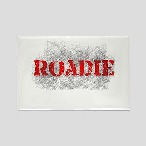 Rock n Roll Roadie Rectangle Magnet