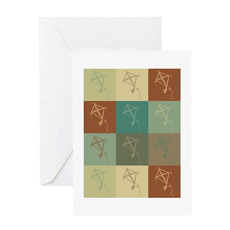 Kites Pop Art Greeting Card